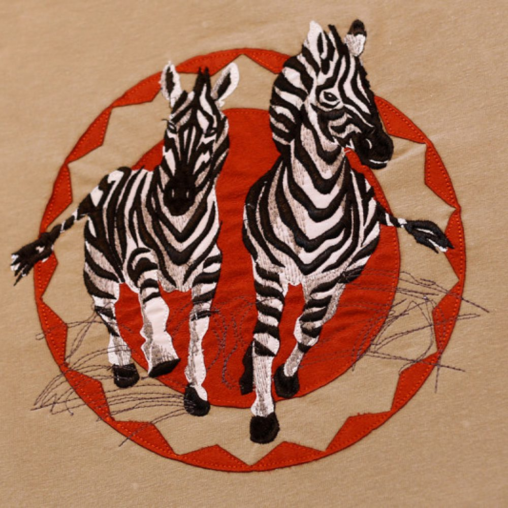 Galloping Zebra