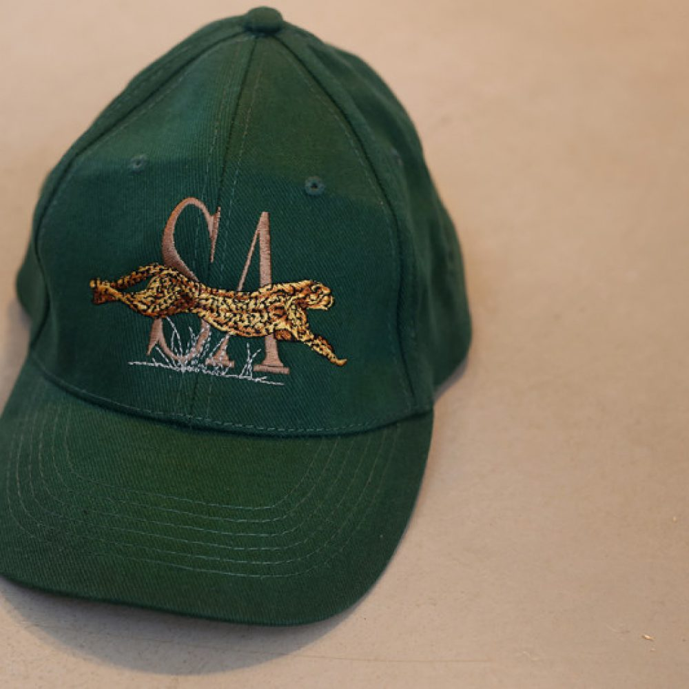 South African Leaping Cheetah Cap
